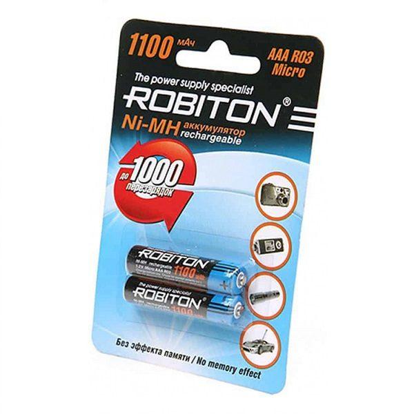 Аккумулятор R03 (1100mAh) ROBITON