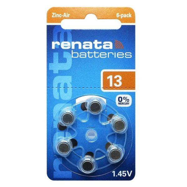 Элемент питания ZA13 1.45V RENATA
