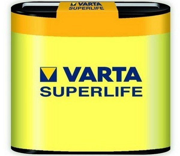 Элемент питания 3R12 4,5V SUPERLIFE VARTA