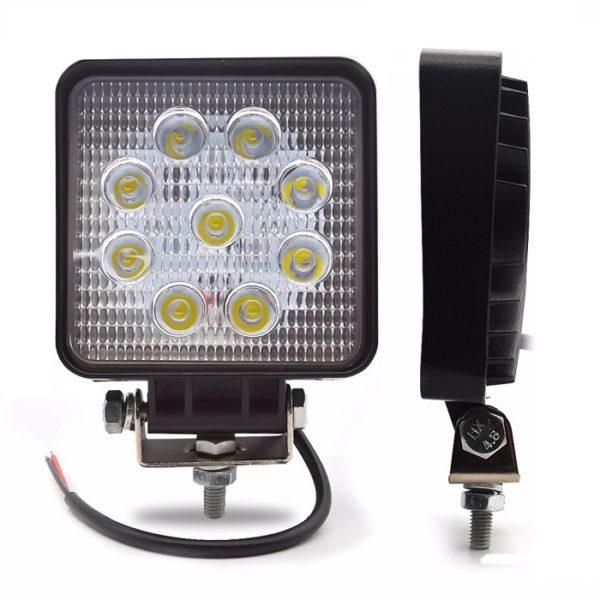 Авто прожектор 0027(27 Ватт, 10-30 Вольт,(Дальний) Epistar