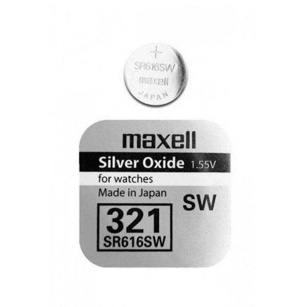 Элемент питания SR-616 (321) MAXELL