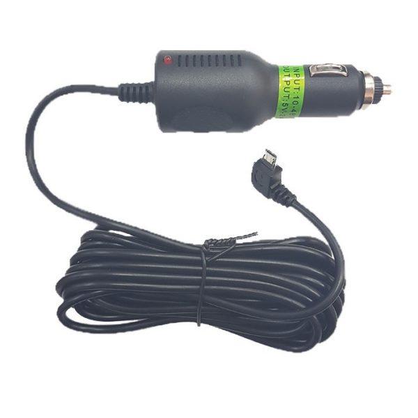 Шнур питания в прикуриватель micro  (3м, 2000mA)