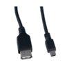 Шнур USB A гнездо/MINI USB B 5pin шт 1.0м №U4203 PERFEO