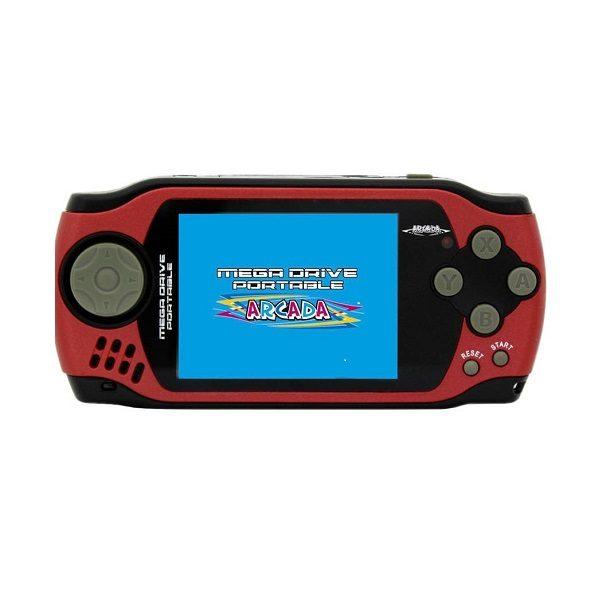 Игровая приставка ARCADA Portable 105-in-1 Red