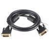 Шнур DVI-D шт/DVI-D шт 1.5м 5bites APC-096-015