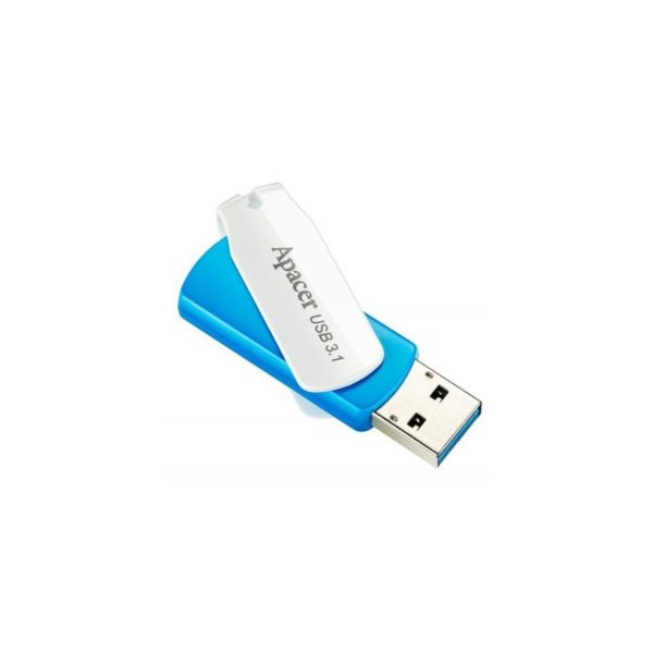 ФЛЭШ-КАРТА APACER  32GB AH357 USB 3.1 СИНЯЯ РАСКЛАДНАЯ