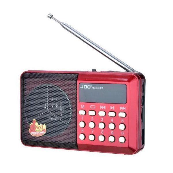 Радиоприемник JOC H033U  (USB/TF/Micro/FM)