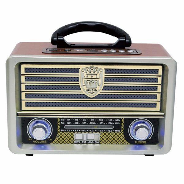 Радиоприемник MEIER M-U113 ЧЕРНЫЙ USB/SD/microSD