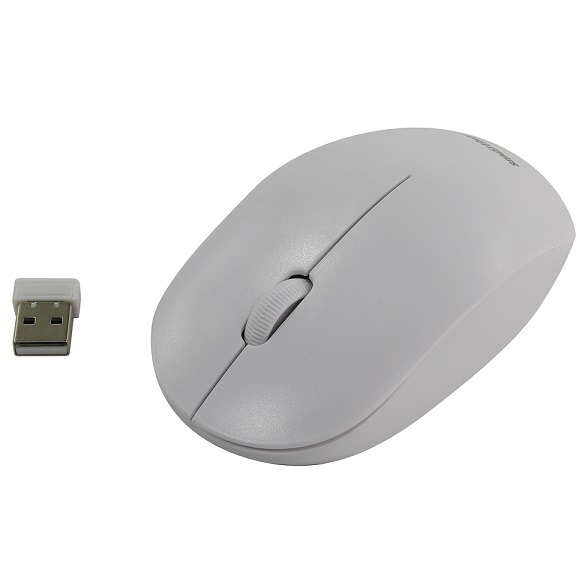 Мышь беспроводная  351AG-W БЕЛАЯ USB SMART BAY