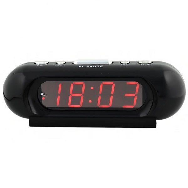 Часы VST716-1 НАСТОЛЬНЫЕ ЭЛЕКТРОННЫЕ КРАСНЫЕ