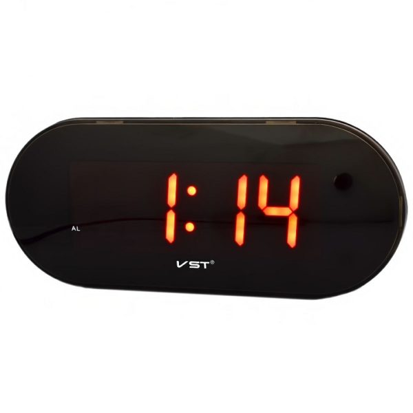 Часы VST717-1 НАСТОЛЬНЫЕ ЭЛЕКТРОННЫЕ КРАСНЫЕ