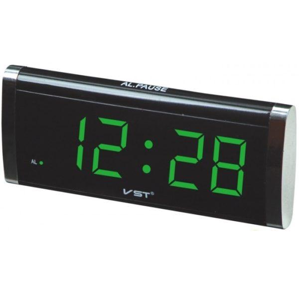 Часы VST730-4 НАСТОЛЬНЫЕ ЭЛЕКТРОННЫЕ ЗЕЛЕНЫЕ