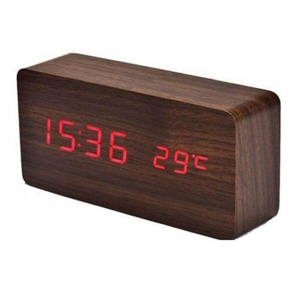 Часы VST862-1 КРАСНЫЕ (ТЕМНО- КРОИЧНЕВЫЙ)