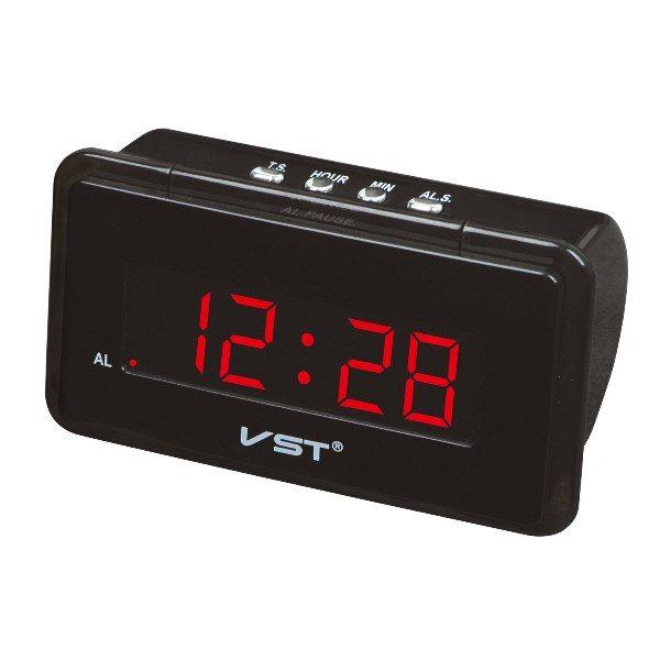 Часы VST-728-1 НАСТОЛЬНЫЕ ЭЛЕКТРОННЫЕ КРАСНЫЕ