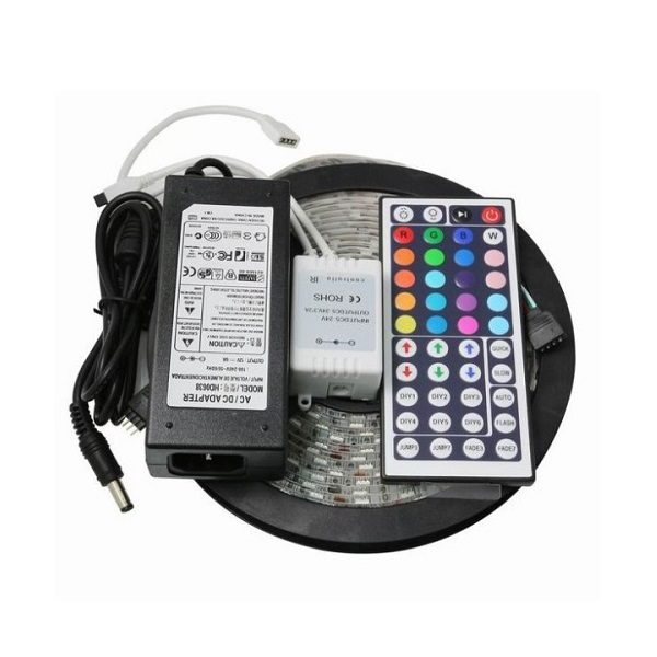 Набор LED лента RGB  OG-LDL01 (5м-5050,IP65,блок,пульт) Огонёк