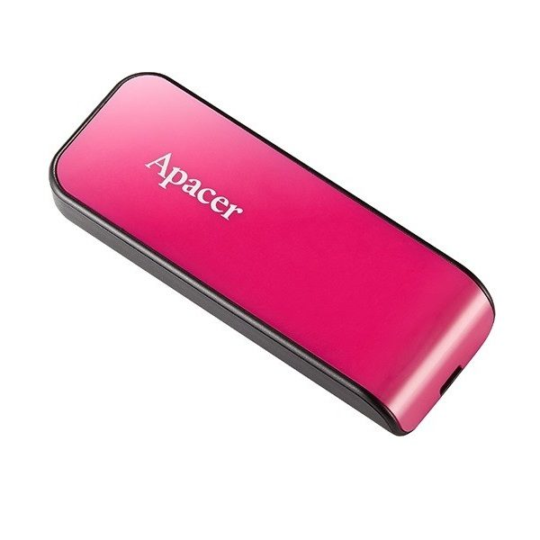 ФЛЭШ-КАРТА APACER 16GB AH334 РОЗОВАЯ ВЫДВИЖНОЙ ПОРТ USB 2.0