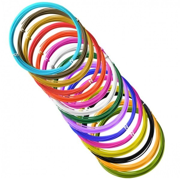 Пластик ABS для 3D ручек (15 цветов) Орбита D-15