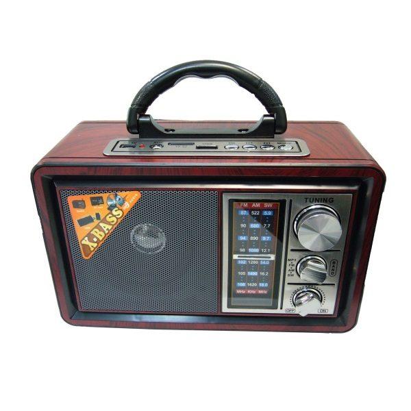 Радиоприемник MEIER M-U151 КОРИЧНЕВЫЙ USB/SD/microSD/AUX