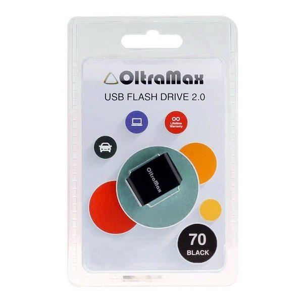 ФЛЭШ-КАРТА OLTRAMAX 8GB 70 mini BLACK