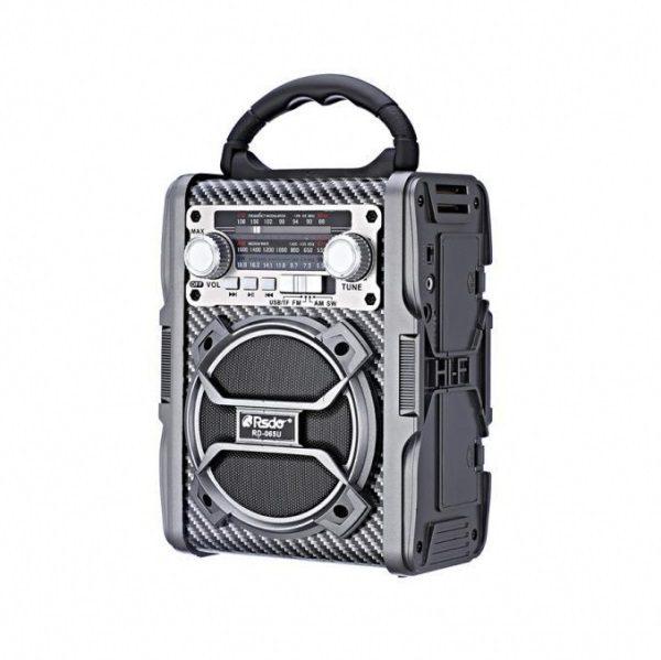 Радиоприемник RSDO RD-065U КОРИЧНЕВ BLUETOOTH/USB/SD/microSD