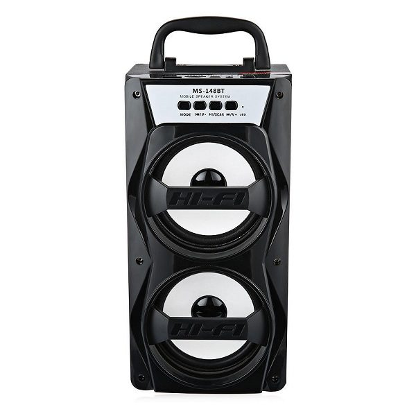 Аудио-система MS-148BTch BLUETOOTH/USB/mSD/FM/LED ЧЕРНАЯ
