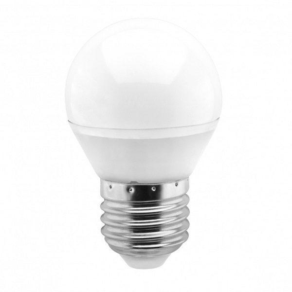 Светодиодная лампа (L130) G45 10.5W 4000K/E27 ( Шарик / Холодный свет ) КОСМОС