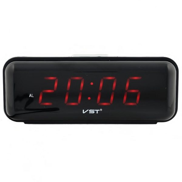 Часы VST738-1 НАСТОЛЬНЫЕ ЭЛЕКТРОННЫЕ КРАСНЫЕ