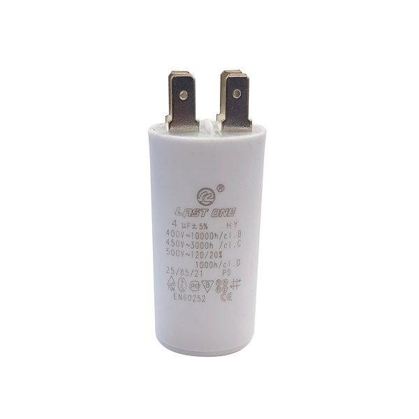 Пусковой конденсатор 4/450VAC (30x60) 5% с клеммами