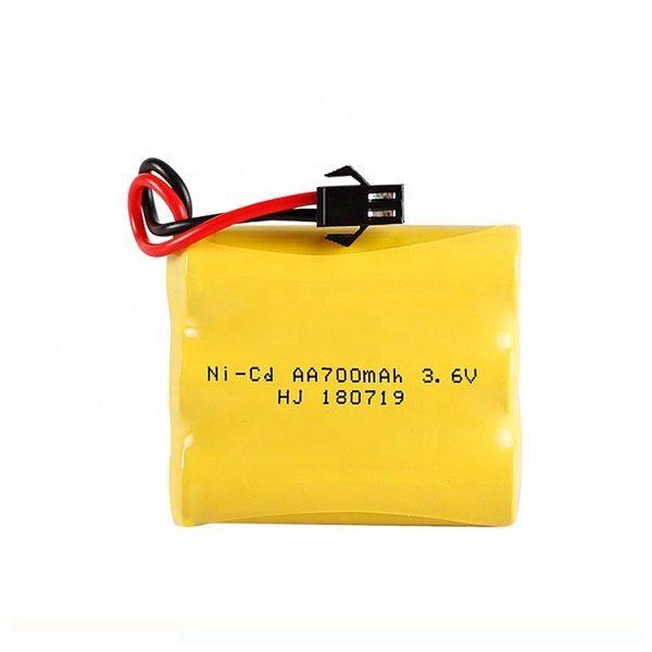Аккумулятор Ni-Cd 3.6V 700mAh AA
