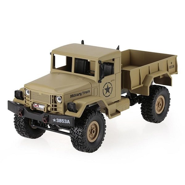 Радиоуправляемый военный грузовик Heng Long Military Truck HL3853A 4WD 1:16 2.4GHz