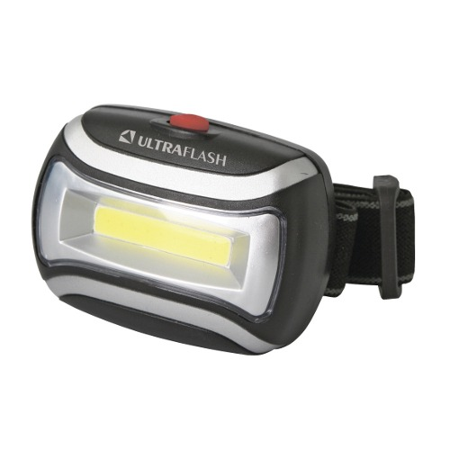Фонарь налобный LED 5380  3Вт COB LED 3 ULTRAFLASH