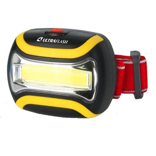 Фонарь налобный  LED 5358  1COB  ULTRAFLASH