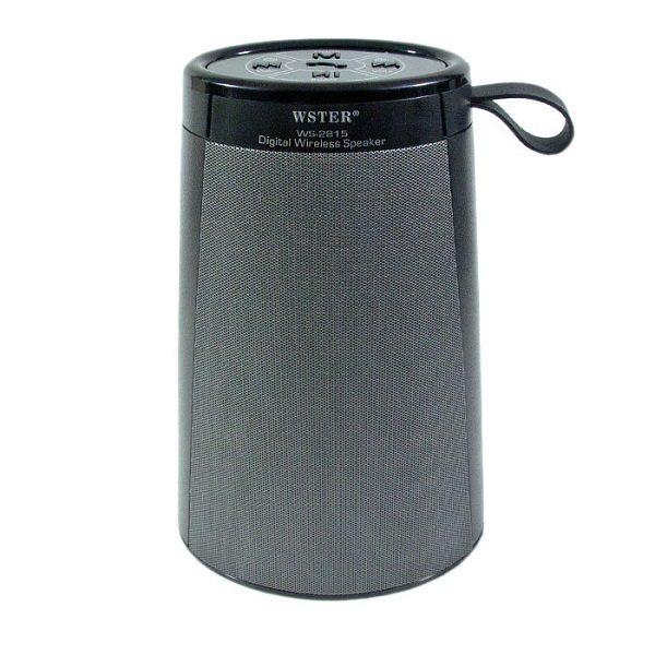 Аудио-система WSTER WS-2815 BLUETOOTH/USB/mSD/FM ЧЕРНАЯ