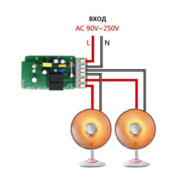 Wi-Fi реле Sonoff Dual