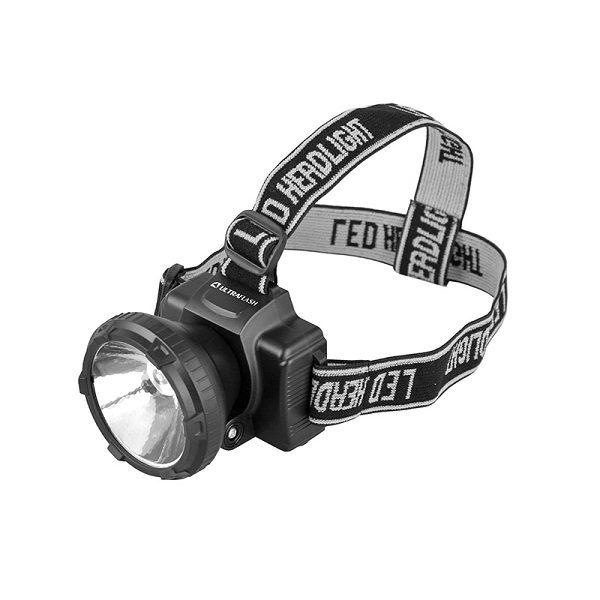 Фонарь налобный акк. LED 5364  1 LED  ULTRAFLASH