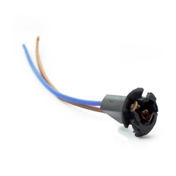 Разъем для ламп 1 контакт,T10 (W5W) (с проводами) 902640 Nord YADA