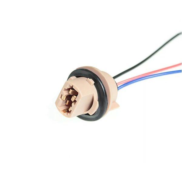 Разъем для ламп 2 контакта,T20 (W21/5W) (с проводами) 902643 TM Nord YADA