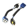 Разъем для ламп 3 контакта,H4 (с проводами) материал: керамика 902649 Nord YADA