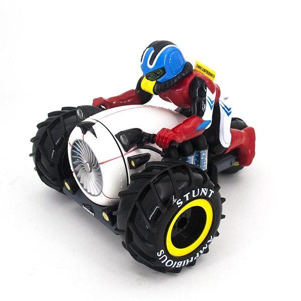Радиоуправляемый мотоцикл-амфибия-перевертыш 2.4GHz