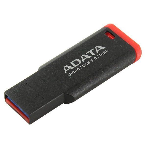 ФЛЭШ-КАРТА A-DATA 16GB UV140 USB 3.0 ЧЕРНАЯ/КРАСНАЯ БРЕЛОК