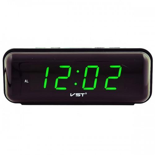 Часы VST738-4 НАСТОЛЬНЫЕ ЭЛЕКТРОННЫЕ ЗЕЛЕНЫЕ