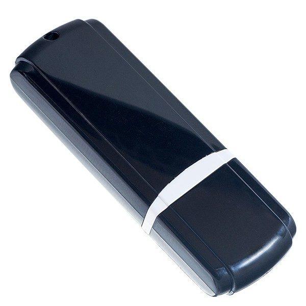 ФЛЭШ-КАРТА PERFEO 4GB C02 ЧЕРНАЯ С КОЛПАЧКОМ USB 2.0