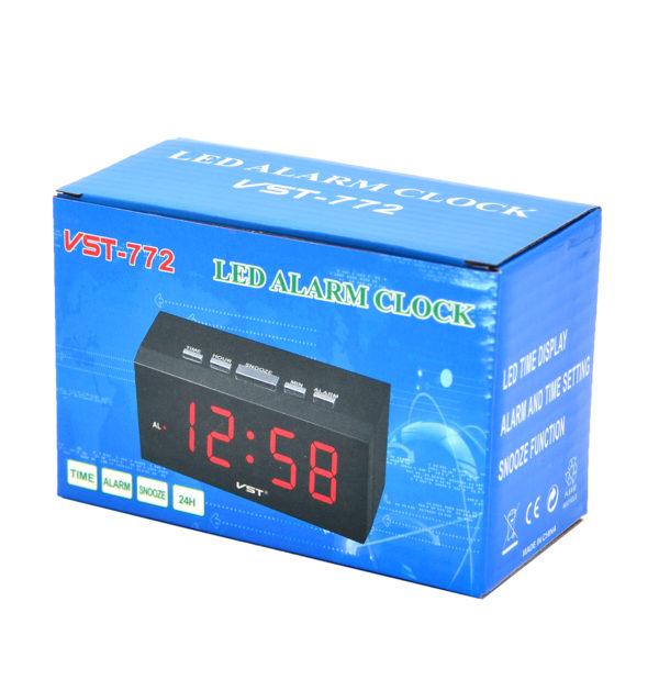 Часы VST772 НАСТОЛЬНЫЕ ЭЛЕКТРОННЫЕ ЗЕЛЕНЫЕ