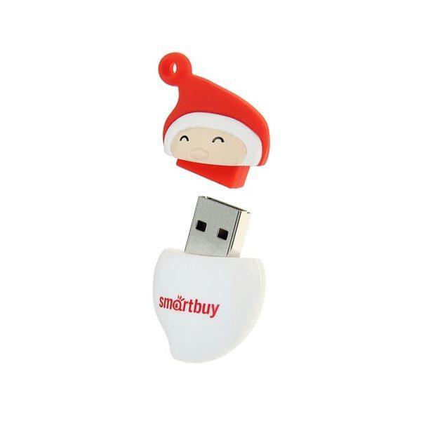 "ФЛЭШ-КАРТА SMART BUY 8GB ""ДЕД МОРОЗ"" SANTA-A USB2"