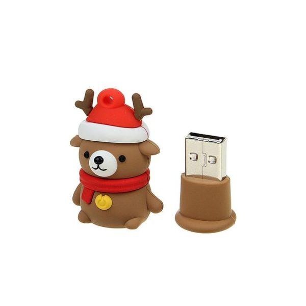"ФЛЭШ-КАРТА SMART BUY 8GB WILD ""МЕДВЕДЬ"" CARIBOU USB 2.0"