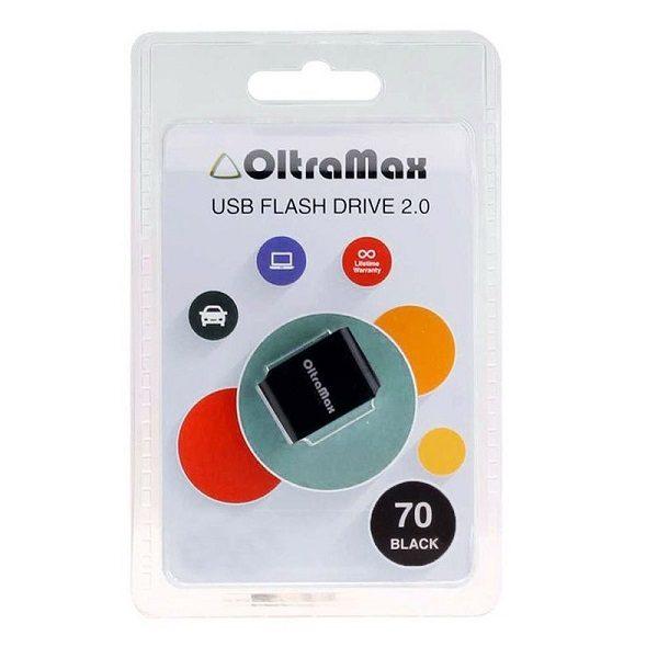 ФЛЭШ-КАРТА OLTRAMAX  32GB 70 mini BLACK