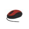 Мышь оптическая CM-102 RED USB НЕСКОЛЬЗЯЩЕЕ ПОКРЫТИЕ CBR