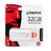ФЛЭШ-КАРТА KINGSTON  32GB G4 USB 3.0 БЕЛАЯ С КОЛПАЧКОМ
