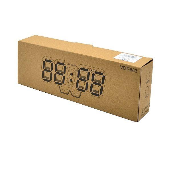 Часы VST-883-1 НАСТОЛЬНЫЕ ЭЛЕКТРОННЫЕ/ДАТА/ТЕМП-УРА КРАСНЫЕ