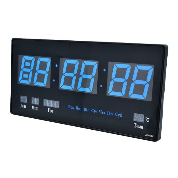 Часы OT-CLW06 Синие настенные